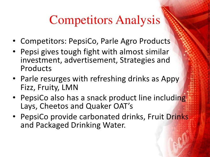 pestel analysis of parle agro Parle products ltd as a brand is evaluated in terms of its swot analysis,  competition, segment, target group, positioning its tagline/slogan and unique  selling.