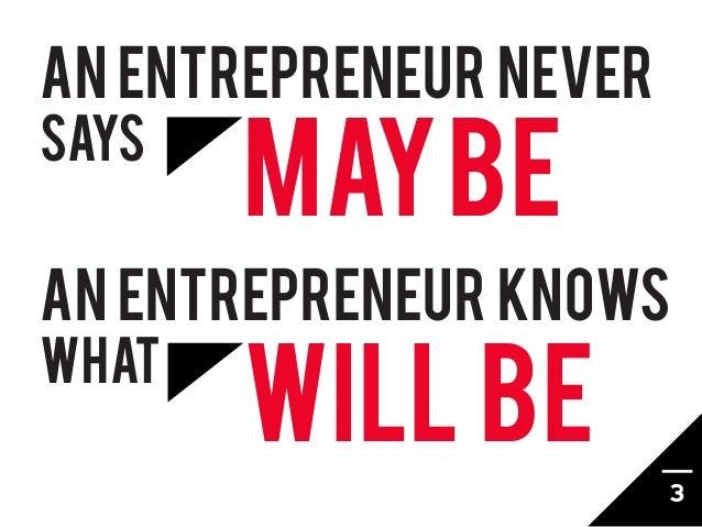 The Essence of an Entrepreneur Slide 3