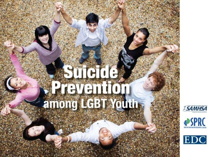 Suicide Prevention among Lesbian, Gay, Bisexual, and    Transgender Youth:   A Workshop for Professionals        Who Serve...