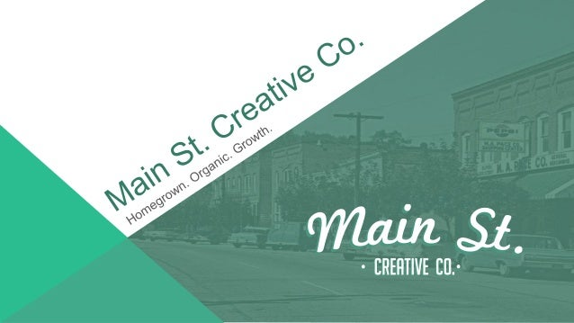 Index About Main St. – 3 Services – 4 Local Blogger Program – 5 Community Managers – 7 Org Chart – 8 CM & Blogger Revenue ...