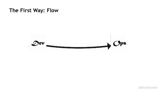The First Way: Flow  @RealGeneKim