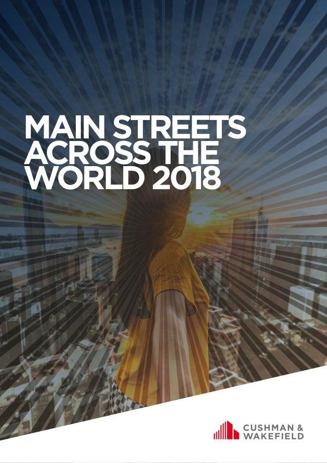 MAINSTREETS ACROSSTHE WORLD2018
