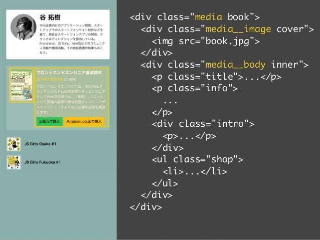.speaker {  overflow: hidden; /* Clearfix */  padding: 20px;  background-color: #fff;  }  .speaker .image {  float: left; ...