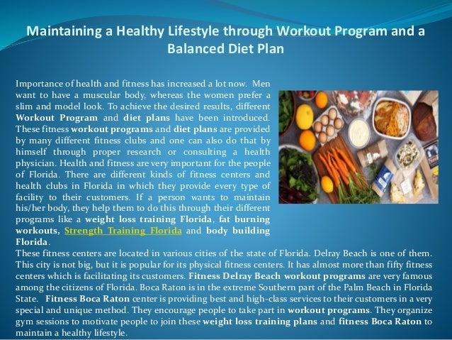 Balanced Workout Program