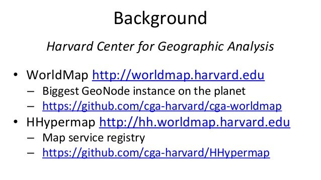 Maintaining spatial data infrastructures (SDIs) using distributed task queues Slide 2