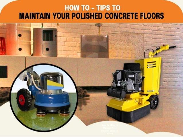 maintain polished concrete floors concrete solutions