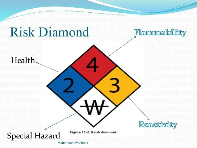 Risk Diamond Maitenance Practice-1 Health Special Hazard