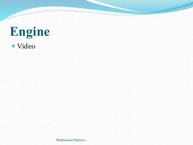 Engine  Video Maitenance Practice-1