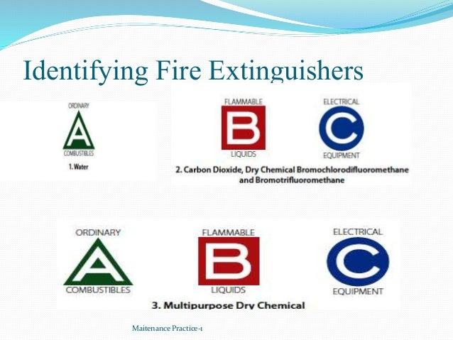 Identifying Fire Extinguishers Maitenance Practice-1