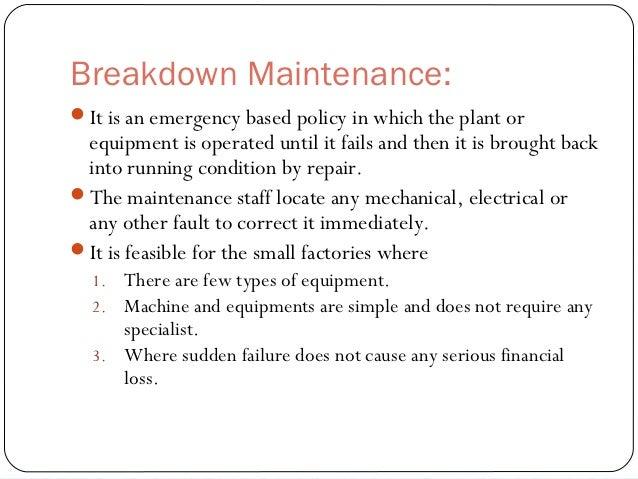shutdown maintenance 14