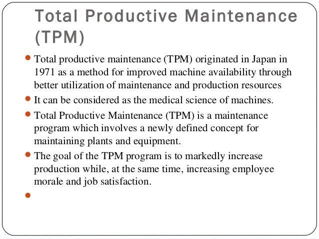 total productive maintenance pdf in hindi