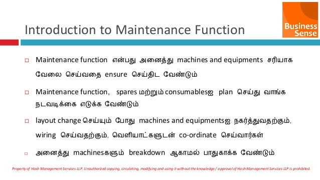 preventive autonomous maintenance beginners guide tamil rh slideshare net Tamil Alphabet cleat wiring meaning in tamil