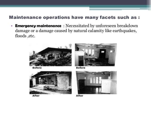 unit 7 construction and maintenance of Building maintenance plan original construction: 1965 last modernization: supply unit preventive maintenance routine #5 2-7.