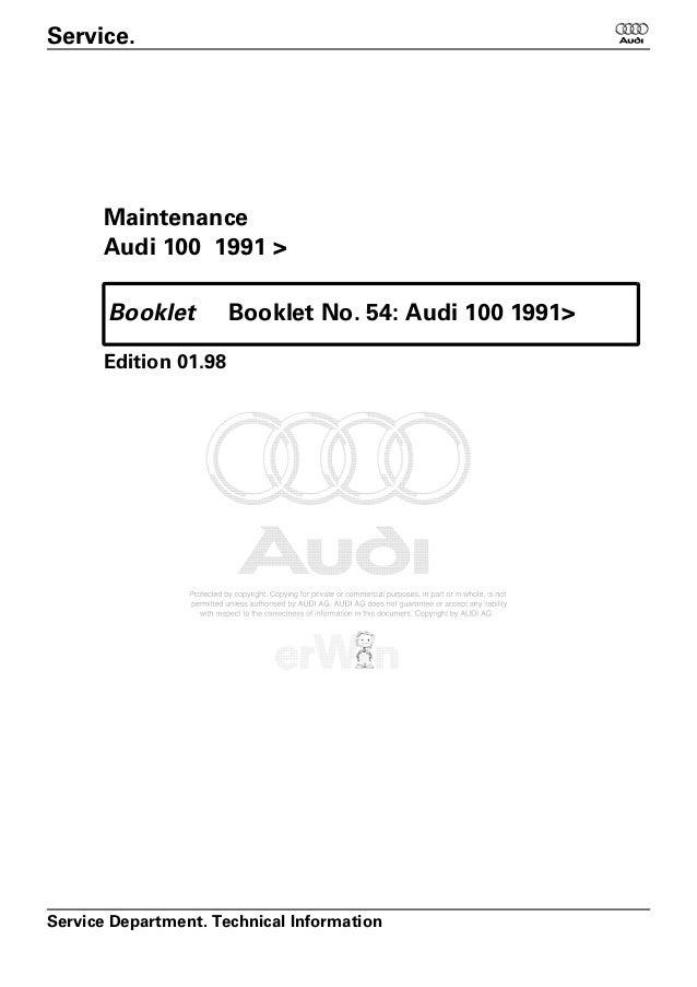 maintenance audi 100 rh slideshare net 1980 Audi Quattro 1980 Audi Quattro