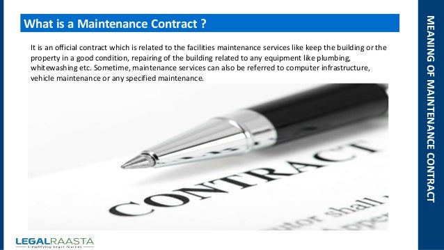 Doc585641 Property Maintenance Contract Template 10 – Property Maintenance Contract Template
