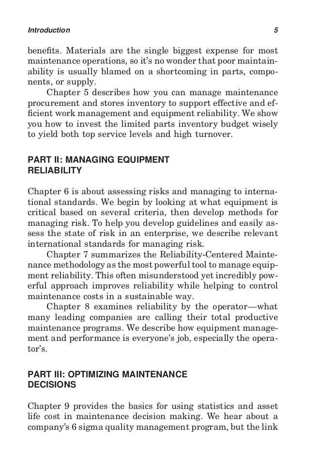 Reliability centered maintenance john moubray