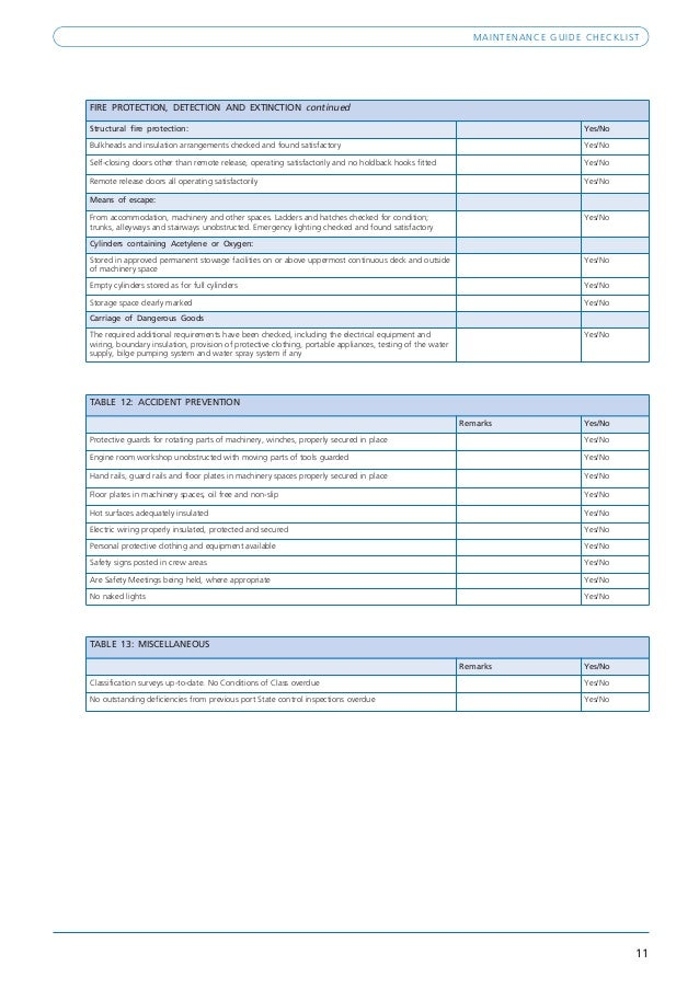 Maintenance guide checklist_(rev1)