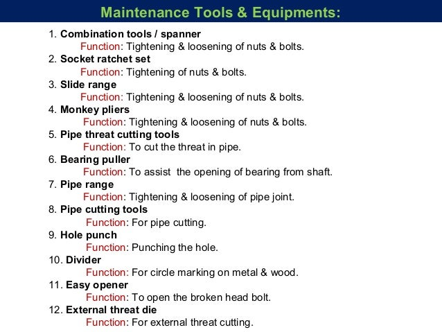 Maintenance In Wet Processing Machine