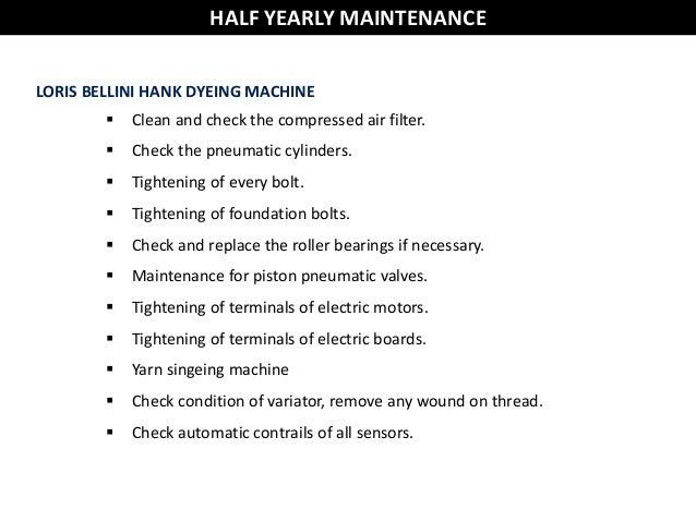 electric motor preventive maintenance checklist