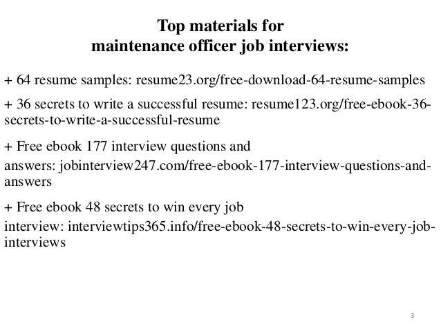 Maintenance officer resume sample pdf ebook free download on sample resume substitute teacher, sample resume powerpoint presentation, sample resume documents, sample resume autocad,