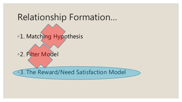 formation and maintenance of relationship Abstract a relationship between two or more organizations is a social action system because it exhibits the basic properties of any organized form of collective behavior.
