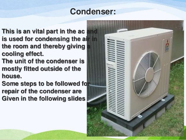 Maintenance of your ac condenser for its betterment in for Outdoor ac unit pad