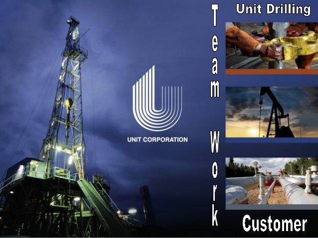 Discover the Outcome of Working Together Unit Drilling has focused on our customers primary need. (Dependability) We put t...