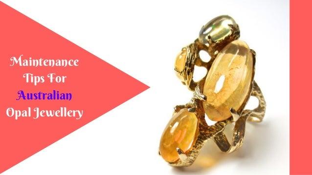 Maintenance Tips For Australian Opal Jewellery