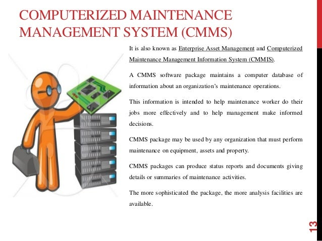 Trend In Maintenance Management