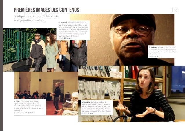 18  premières images des contenus  À GAUCHE Novembre 2013 : cinq mois  après avoir remis une lettre de protesta-tion  au g...