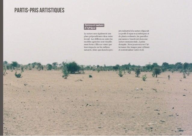 22  Terres et nature  d'Afrique  La nature aura également une  place prépondérante dans notre  travail. Les différences en...