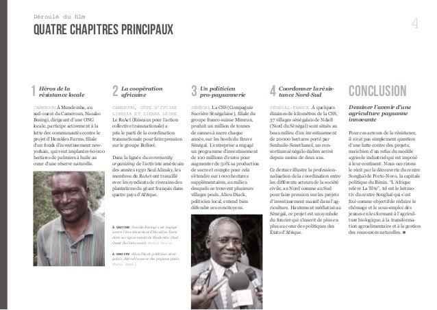 4  Héros de la  résistance locale  CAMEROUN À Mundemba, au  sud-ouest du Cameroun, Nasako  Besingi, dirigeant d'une ONG  l...
