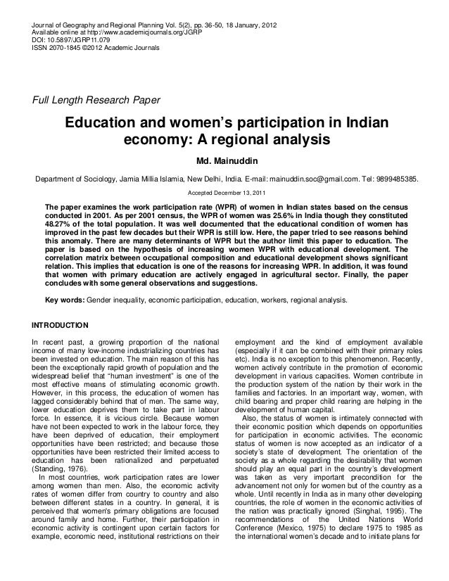 Journal of Geography and Regional Planning Vol. 5(2), pp. 36-50, 18 January, 2012 Available online at http://www.academicj...