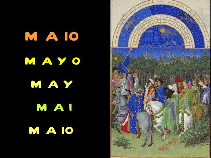 maio mayo may  mai   maio