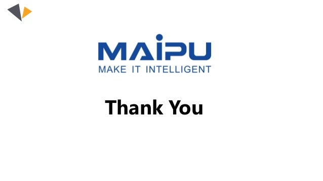 Maipu smart lock solution for industrial business