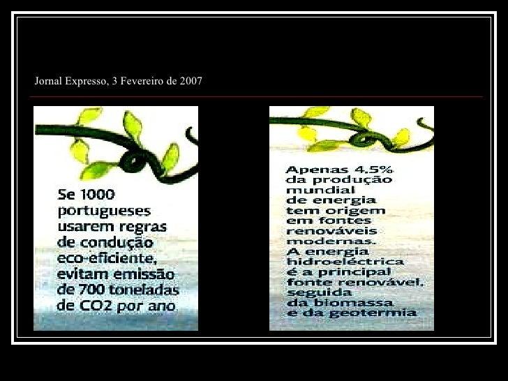 Jornal Expresso, 3 Fevereiro de 2007