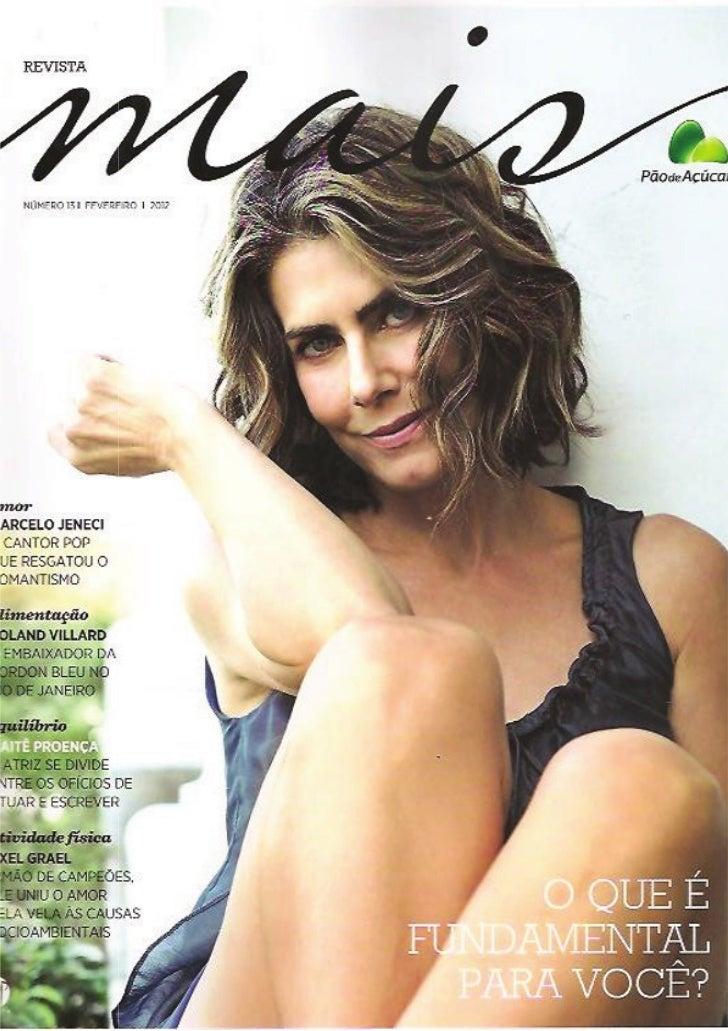 Revista Mais - TALENTOS DO CAPÃO
