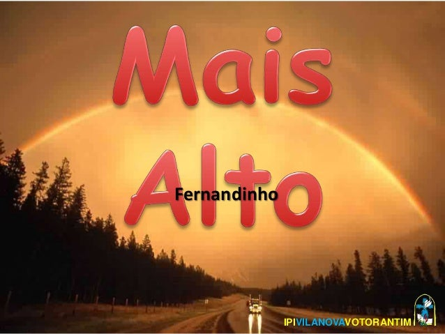 Fernandinho IPIVILANOVAVOTORANTIM