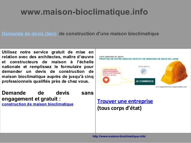 Maison bioclimatique for Maison bioclimatique