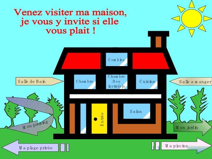 Cuisine Chambre Salon Entrée Venez visiter ma maison,  je vous y invite si elle vous plait ! Chambre Des Invité(e)s Ma pis...