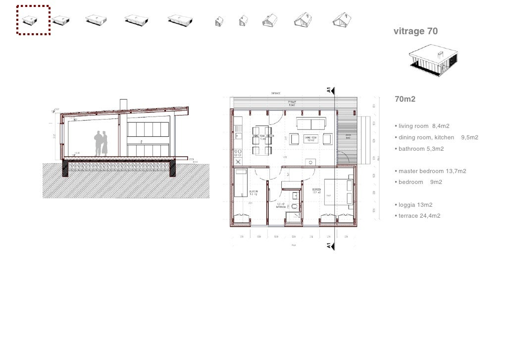 trendy vitrage vitrage m with plan maison 70m2. Black Bedroom Furniture Sets. Home Design Ideas