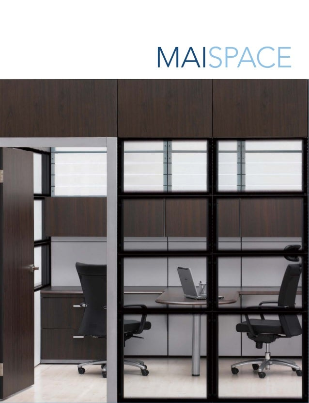 1918 32 Modular Architectural Interiors enable the creation of personalized workSPACE. Office layouts based on an integrat...