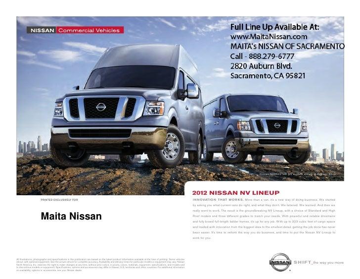 2012 Nissan NV Sacrato