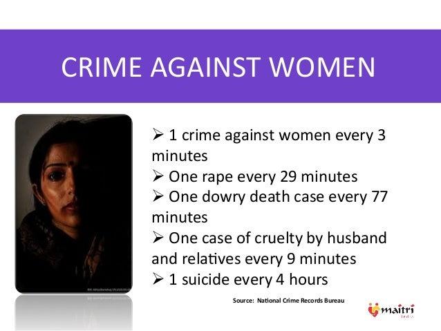 Essay on crime against women