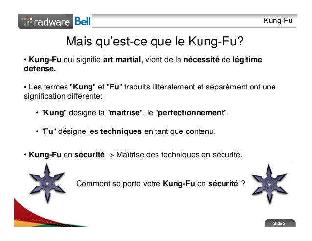 Kung Fu Signification maitriser l'art du kung fu cqsi2010