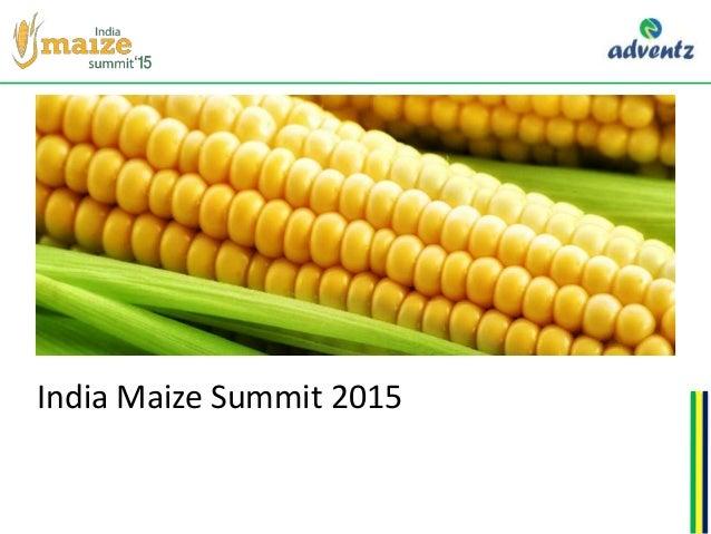 India Maize Summit 2015