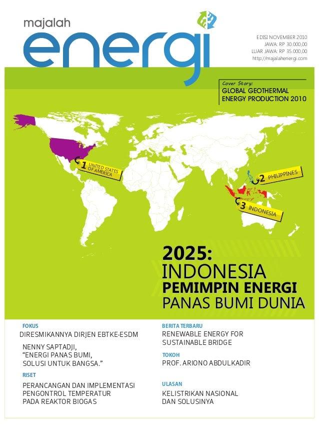 INDONESIA 3 UNITED STATES OF AMERICA 1 PHILIPPINES 2 2025: INDONESIA PEMIMPIN ENERGI PANAS BUMI DUNIA 2025: INDONESIA PEMI...