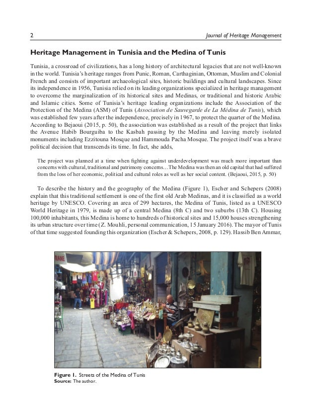 Restoration of Tangible and Intangible Artefacts in the Tunisian Landscape: 'Boutique Hotels' and the Entrepreneurial Project of Dar Ben-Gacem Slide 2