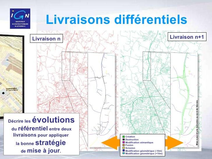 Livraisons différentiels Décrire les  évolutions  du  référentiel  entre deux  livraisons  pour appliquer  la bonne  strat...