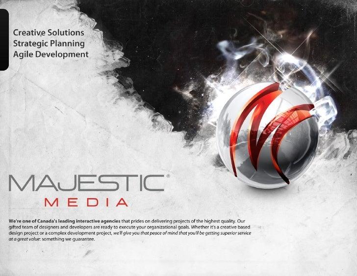 Confidential                                                        Majestic Media Ltd                                    ...
